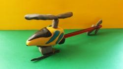 Как слепить из пластилина игрушечный вертолет модели Nine Eagle Solo