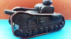 Как лепить танк Черчилль