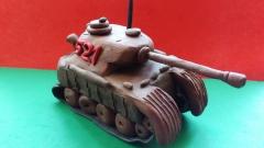 Лепим танк Пантера