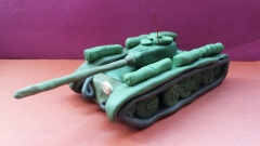 Лепим танк Т-44