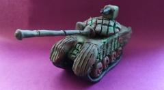 Как сделать танк Т-72 из пластилина своими руками