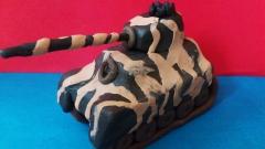 Как слепить танк Тигр из пластилина