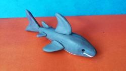 Как слепить акулу из пластилина поэтапно