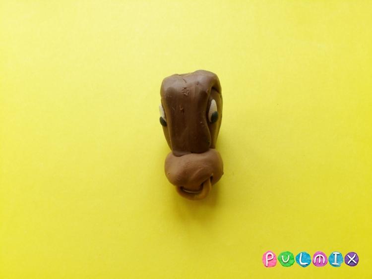 Как слепить быка из пластилина поэтапно - шаг 4