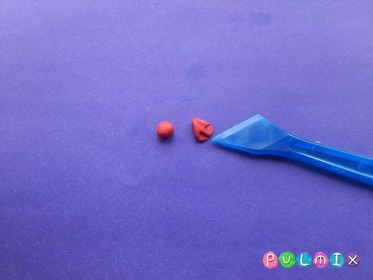 Как слепить чайку из пластилина поэтапно - шаг 8