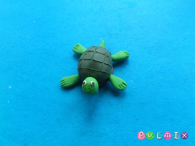 Как слепить черепаху из пластилина поэтапно - шаг 8