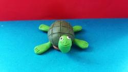 Как слепить черепаху из пластилина поэтапно