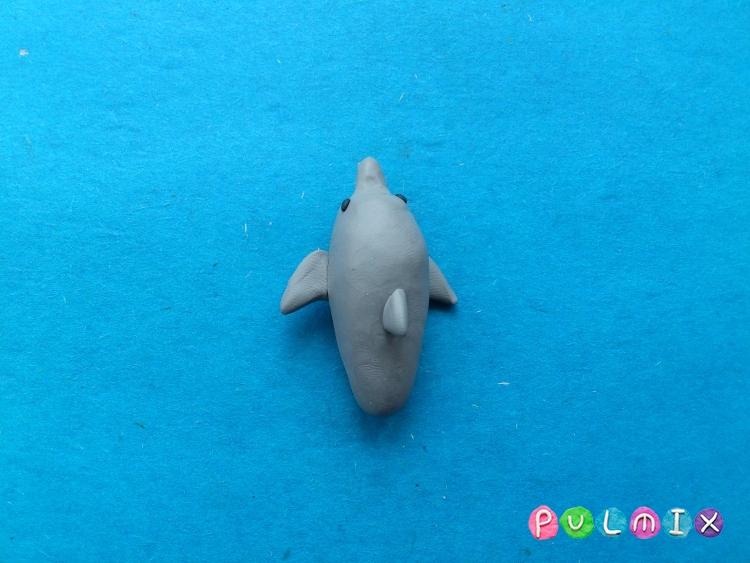 Как слепить дельфина из пластилина поэтапно - шаг 5