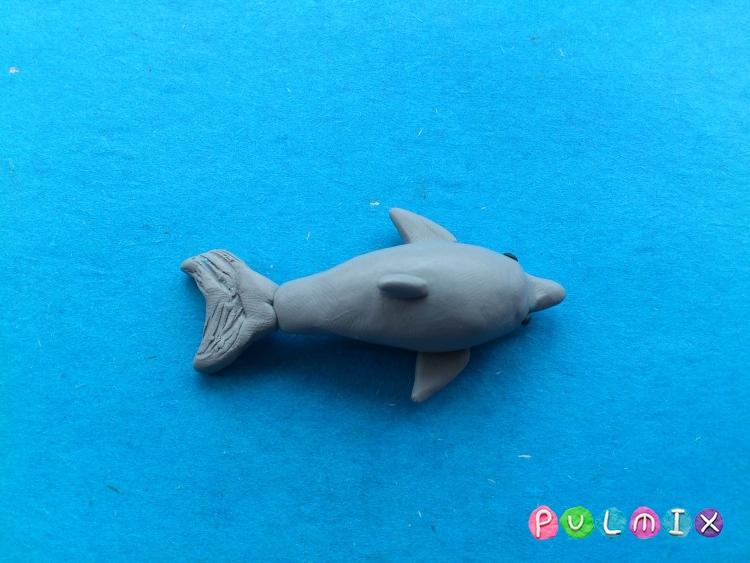 Как слепить дельфина из пластилина поэтапно - шаг 6