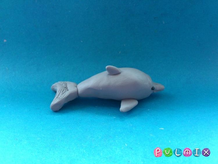 Поделки дельфины из теста 86