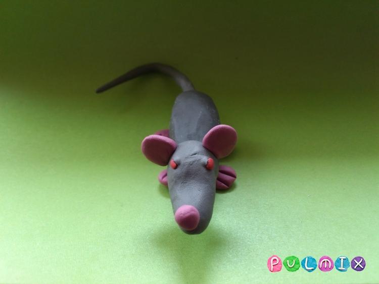 Как слепить крысу из пластилина поэтапно - шаг 9
