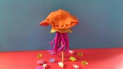 Как слепить медузу из пластилина своими руками поэтапно