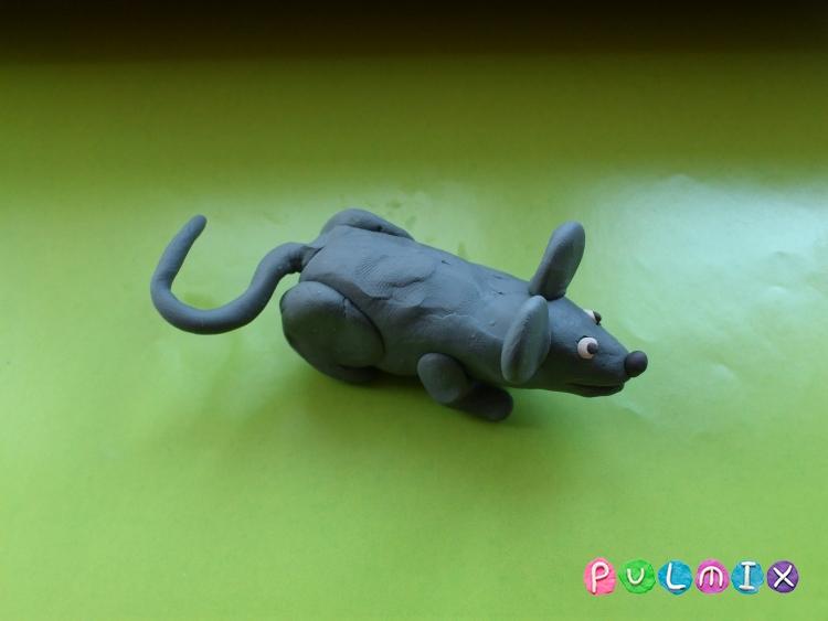Как слепить мышку из пластилина поэтапно - шаг 9