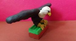Как слепить орла из пластилина своими руками поэтапно
