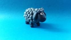 Как слепить овечку  своими руками