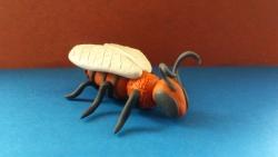 Как слепить пчелу из пластилина своими руками поэтапно