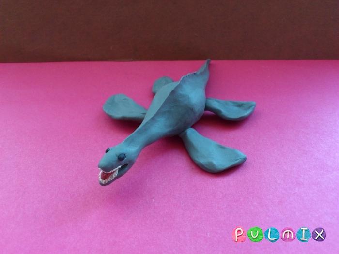Как слепить плезиозавра из пластилина поэтапно - шаг 7