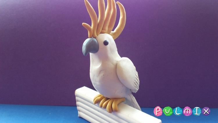 Попугай Ара в оригами своими руками. - Полезные самоделки 11