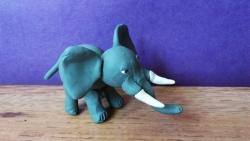 Как слепить слона  своими руками