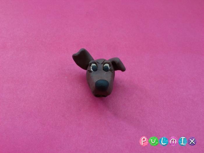 Как слепить собаку из пластилина поэтапно - шаг 6