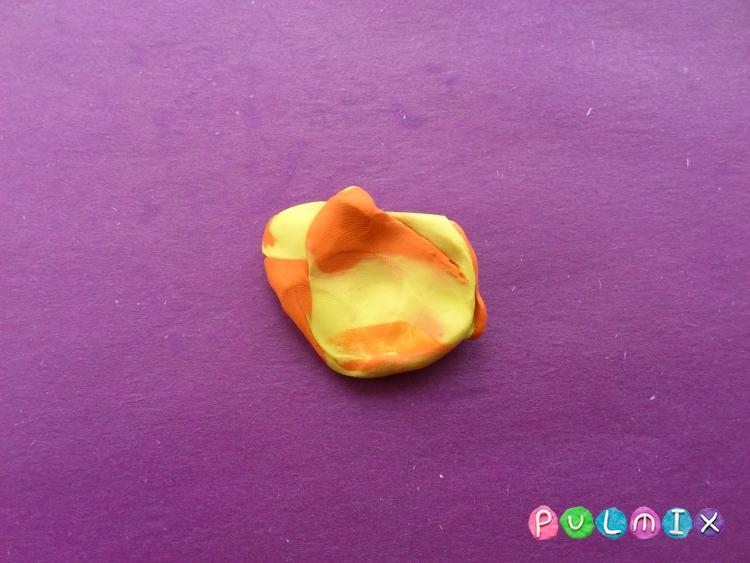 Как слепить стрекозу из пластилина поэтапно - шаг 4