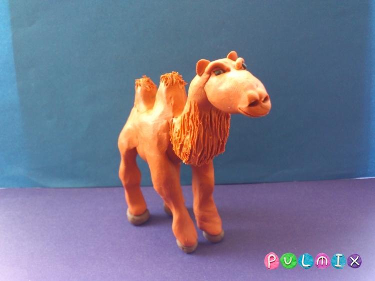 Как слепить верблюда из пластилина поэтапно - шаг 11