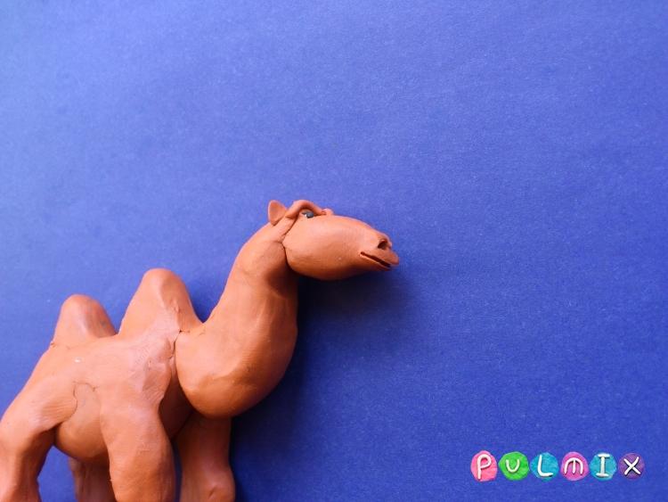 Как слепить верблюда из пластилина поэтапно - шаг 9