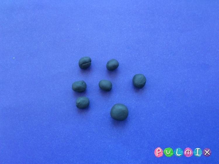Как слепить жука из пластилина поэтапно - шаг 5