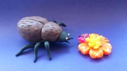 Как слепить жука из пластилина своими руками поэтапно