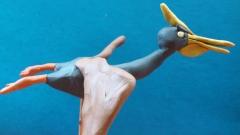 Как слепить динозавра Птеродактиля из пластилина