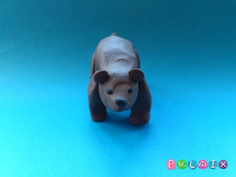 Лепим медведя из пластилина своими руками поэтапно - шаг 7