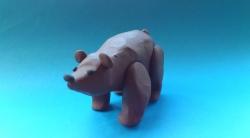 Как слепить медведя  своими руками