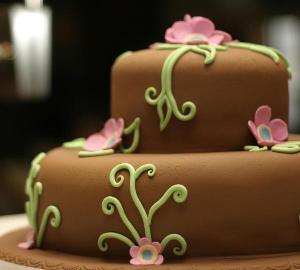 Как слепить из пластилина шоколадный торт