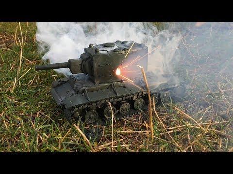 Как слепить танк КВ-2 из пластилина своими руками