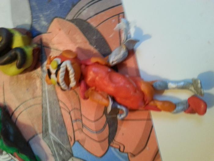 Как слепить из пластилина лиса аниматроника Фокси