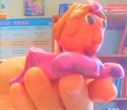 Как слепить младенца из пластилина своими руками поэтапно