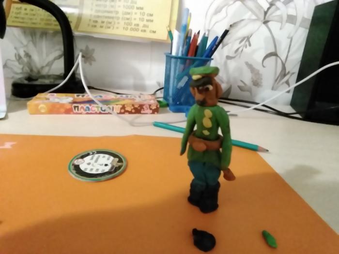 Как сделать солдата из пластилина своими руками поэтапно